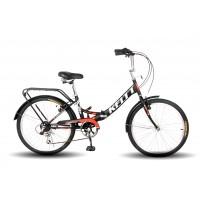 Складной велосипед Keltt Compact 242, размер колеса 24 дюйма