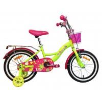 Детский велосипед Aist Lilo, размер колеса 16 дюймов