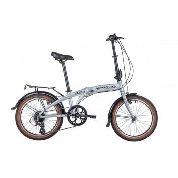Складной велосипед NOVATRACK TG20/8ск/v-br, размер колеса 20 дюймов