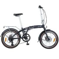 Складной велосипед NOVATRACK TG20/8ск/disc, размер колеса 20 дюймов