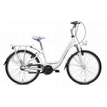 Городской велосипед Folta Oliana, размер колеса 24 дюйма, 3 скорости