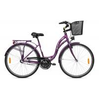 Городской велосипед Folta Sedona Swan 2, 1 скорость, размер колеса 26 дюймов