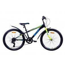 Подростковый велосипед Aist Rocky Junior 1.0, размер колеса 24 дюйма