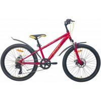 Подростковый велосипед Aist Rocky Junior 1.1, размер колеса 24 дюйма