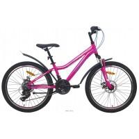 Подростковый велосипед Aist Rosy Junior 2.1, размер колеса 24 дюйма