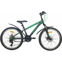 Подростковый велосипед Aist Rocky Junior 2.1, размер колеса 24 дюйма